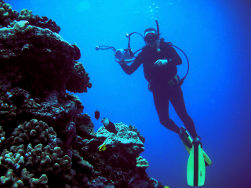Joe in Hawaii in 2007 - Kona Scuba Diving