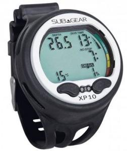 SubGear XP10 Wrist Mount Dive Computer