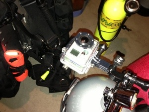 Scuba Mount for GoPro Camera