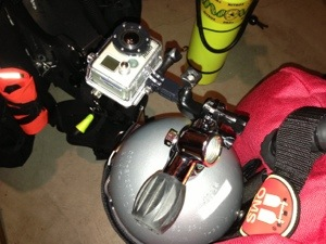 Underwater Mount for GoPro Camera