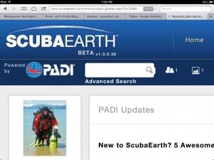 PADI Scuba Earth