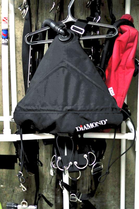 travel sidemount scuba system
