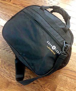 Regulator Bag Contains Sidemount Scuba System